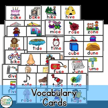 CVCe Word Work Activities {Long Vowel Activities}