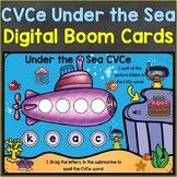CVCe Words Boom Cards Ocean Summer Theme Digital Distance