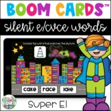 Silent E Boom Cards - Super E! | Distance Learning Resource