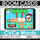 CVCe Words | Boom Cards™ for Distance Learning