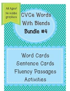 CVCe Words Bundle 4 --Step 4.1 Aligned  (No Kiddie Graphics)