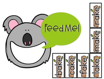 CVCe Words Center (Hungry, Hungry Long Vowel Words)