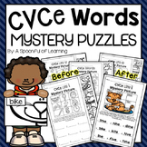 CVCe Words Mystery Puzzles