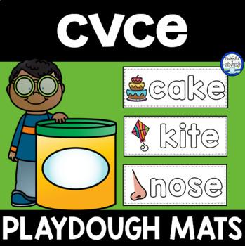 CVCe Words: Playdough Mats