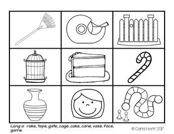 CVCe Words - Read & Spell Long Vowels!