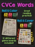 CVCe Words Roll (Long Vowels with Silent E Reading Game)