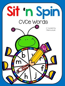 Word Work for Little People: Sit 'n Spin CVCe Words