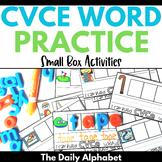 CVCe Words: Small Box Activities