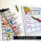 CVCe Words Clip Cards (Strip Clips & Recording Sheets)