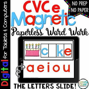 CVCe Word Work for Google™ Use (Magic E)