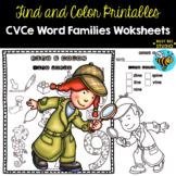 I Spy ... CVCe Words Worksheets | No Prep Printables