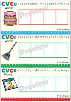 CVCe Words - Spelling Center