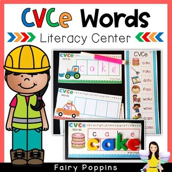 CVCe Words - Spelling Center
