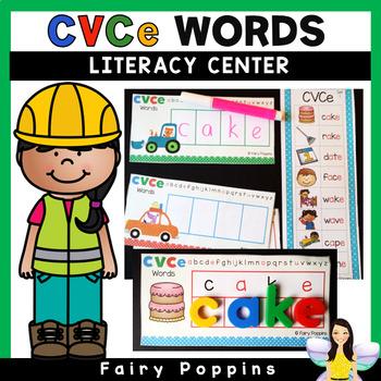 CVCe Words - Writing & Spelling Center
