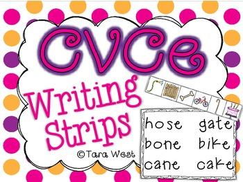 CVCe Writing Strips
