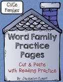 CVCe -ine Family: Word Family Cut, Paste & Read Practice