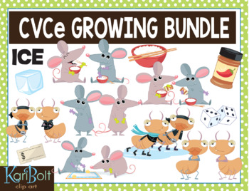 CVCe (with CVVC) Story Words Slow Growing Bundle
