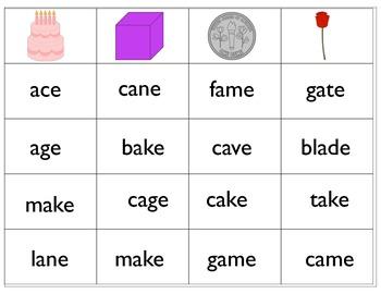 CVCe word games