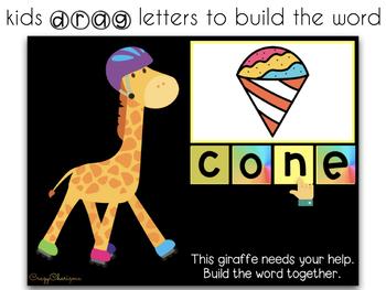 Google Classroom™ Activities for ELA   CVCe words
