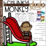 CVE Chunks - Chunky Monkey Slide - Reading Strategy Practice