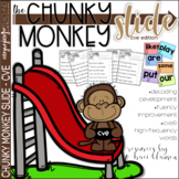 CVE Chunks - Chunky Monkey Slide - Reading Strategy Practice
