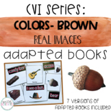 CVI Series Colors Adapted Books   Brown   Real Images
