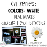 CVI Series Colors Adapted Books   White   Real Images