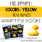 CVI Series Colors Adapted Books   Yellow   Real Images