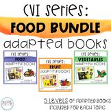 CVI Series: Food BUNDLE Interactive Books
