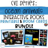 CVI Series Ocean Animals Interactive Books BUNDLE | Printa