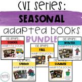 CVI Series Seasonal Adapted Books Bundle   High Contrast