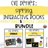 CVI Series Spring Interactive Books BUNDLE | Printable and
