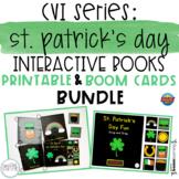 CVI Series St. Patrick's Day Interactive Books BUNDLE | Pr