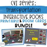 CVI Series: Transportation Interactive Books BUNDLE (Print