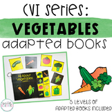 CVI Series: Vegetables Interactive Books