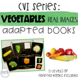 CVI Series Vegetables Interactive Books | Real Images