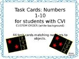 CVI task cards 1-10 CUSTOM ORDER-white backgrounds