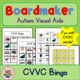 CVVC Bingo - Boardmaker Visual Aids for Autism SPED