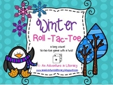 CVVC CVCe Long Vowel Winter Tic Tac Toe Games