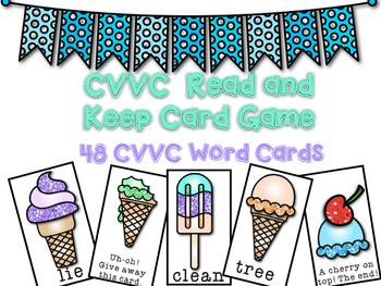 CVVC Card Game - Ice Cream Theme