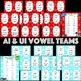 """CVVC Long Vowel Teams """"I Have Who Has"""" {{BUNDLE}}"""