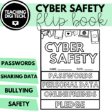 CYBER SAFETY ACTIVITY FLIP BOOK - Internet Safety Lesson A