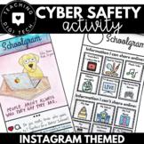 INSTAGRAM Themed Social Media CYBER SAFETY Activity - Shar