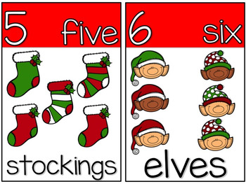 My Christmas/Holiday Counting Book