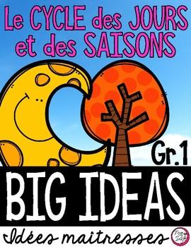 CYCLE des JOURS et des SAISONS • Science Big Ideas Grade 1