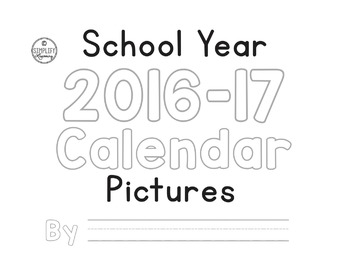 CYO Calendar Pictures for each Month -  SY 2016-17 PK-2, SPED
