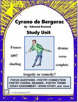 CYRANO de BERGERAC Study Unit