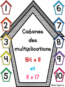 Cabanes des multiplications