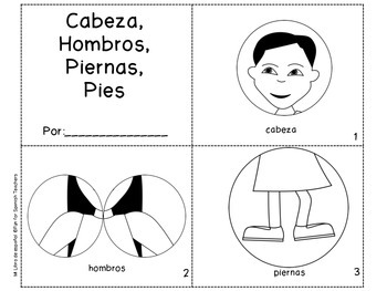 Cabeza, Hombros, Piernas, Pies - Activity Set with Song (Mp3)