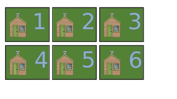 Cabin Calendar Pieces